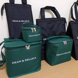 16c64a3d9c60 雑誌GLOW2018年8月号の付録「DEAN&DELUCA保冷バッグ3点・保冷剤」